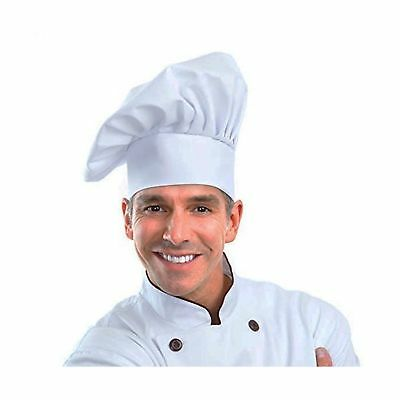 Chef Hat Adjustable Elastic Baker Kitchen Cooking Hat by WearHome(TM) (1pack) 1