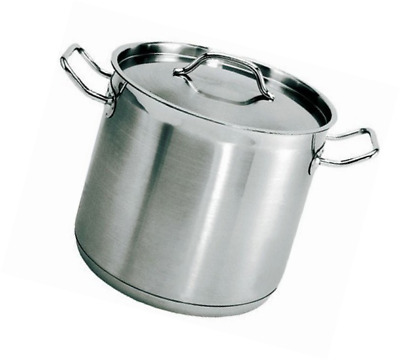 Update International (SPS-100) 100 Qt Induction Ready Stainless Steel Stock Pot