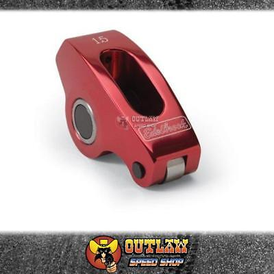 Performer Rpm Red Aluminium Roller Rockers Small Block Chevy - Single - Ed7776