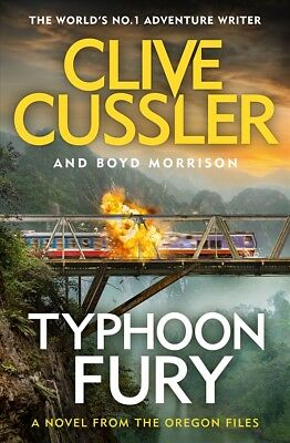 New Typhoon Fury: Oregon Files #12 By Clive Cussler