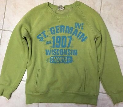 St Germain WI Crew Sweatshirt Women's M