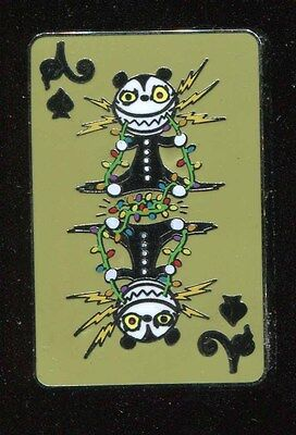 Nightmare Before Christmas Playing Card Mystery Scary Teddy Disney Pin 110365