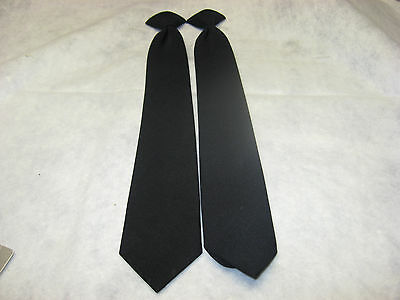 Police / Security / Fire /  EMS Navy Blue Uniform Ties
