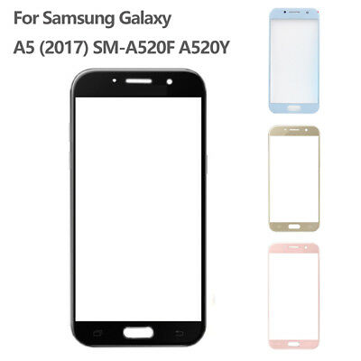 For Samsung Galaxy A5 A520Y SM-A520F (2017) Front Outer Lens Glass Touch Screen