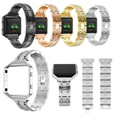 Black Friday Magnetic Stainless Steel Watch Band Strap Frame for Fitbit Blaze
