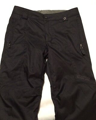 ••EUC••. Burton Dryride Youth Kid Medium 10-12 Snowboard Ski Snow Pants Black