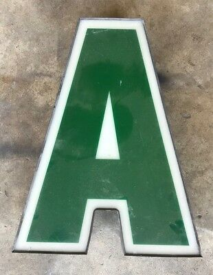 """Salvaged Channel Letter """"a"""""""