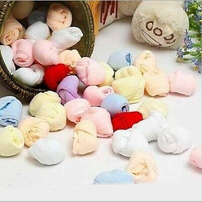 5 Pairs*Infant Baby Candy Color Short Sock Newborn Kid Toddler Cozy Socks Cute