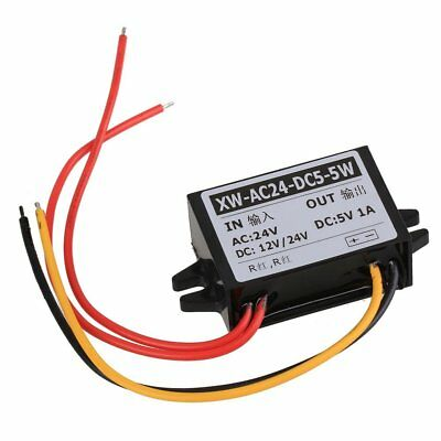 Car Power Buck Converter AC 24V to DC 5V 5W Short-circuit Protection Waterproof