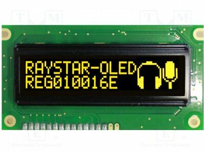 1 pcs Display: OLED; graphical; 100x16; Window dimensions:66x16mm