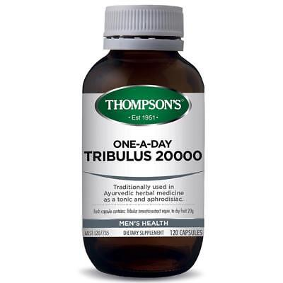 Thompson's One A Day Tribulus 20000 120 Capsules Mens Health Dietary Supplement