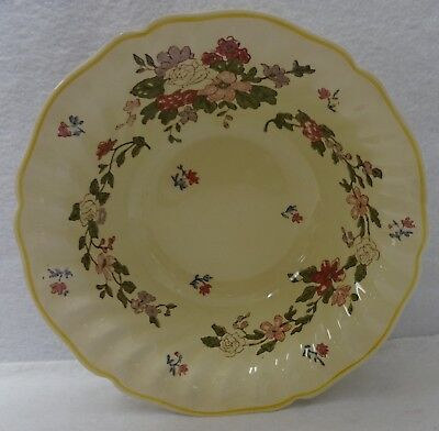ROYAL DOULTON china WILDFLOWER D5273 pattern Round Vegetable Serving Bowl 9-1/8""