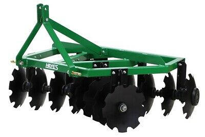 Hayes 6Ft 3 Point Linkage Tractor Disc Harrow/harrows - Offset
