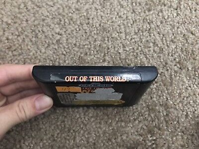 Out of This World  (Sega Genesis, 1994) cartridge only