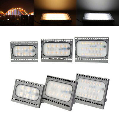 LED Flood Light Spotlight Outdoor Wall Lamp 20W 30W 50W 2835SMD 220V White 2017