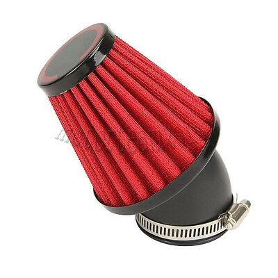 42mm Red 45 Degree Air Filter For Suzuki GS750 1977-1979 GS1000 1978 1979 1980