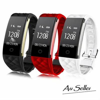 Fitness Heart Rate Smart Activity Tracker Fitbit Style GPS Pedometer Stop Watch