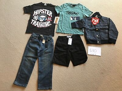 Boys Size 5 Mixed Bundle - all BNWT, incl Mossimo