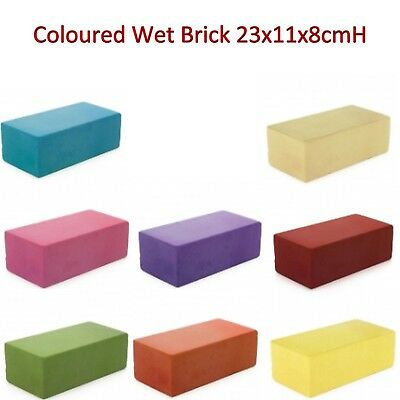 5 / 10 pieces  Wet Floral Foam Brick Block 23x11x8cmH