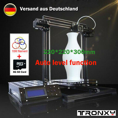 Tronxy 3D Printer X3A Aluminium Structure Auto Level LCD Screen Self-assembly DE