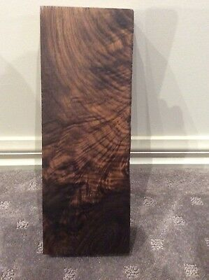 American Black Walnut Figured Knife Scale Blank Billet. Luthier, Craft, Timber #
