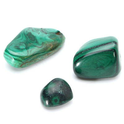 250CT Natural Antique Green Malachite Cabochon Untreated Gemstone Polished