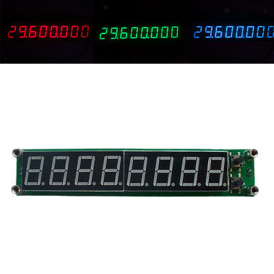 PLJ-8LED-R 0.1MHZ-1GHz RF Signal Frequency Counter Cymometer Tester 3 Color
