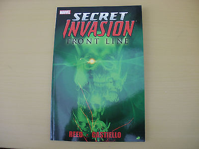 Secret Invasion - Front Line - Marvel Tpb 1St Printing 2009