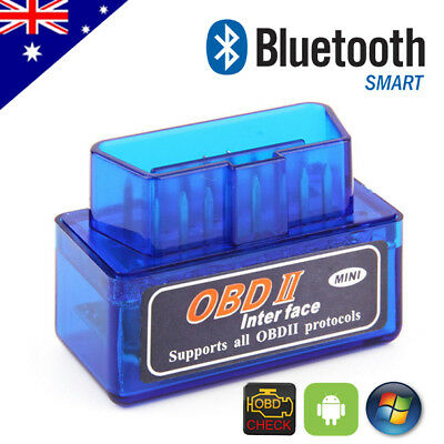 ELM327 OBDII OBD2 Bluetooth Car Diagnostic CAN BUS Scanner Tool for Android PC