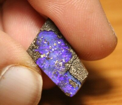 8.7ct Boulder Opal Cabochon - Stunning Neon - Winton QLD - See Video