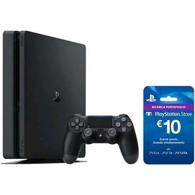 Egp212872 Sony Konsole Playstation 4 500 Gb Schlank + Ps Live Card 10