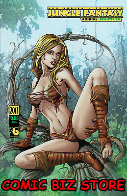 Jungle Fantasy Annual 2017 1St Printing Beautyfied Tasy Variant Cover