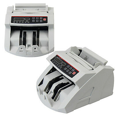 Money Bill Currency Counter Counting Machine Counterfeit Detector UV MG Cash USA