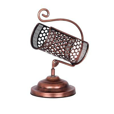 Lattice Design Iron Wine Rack Tabletop Display Stand Single Bottle Holder #2