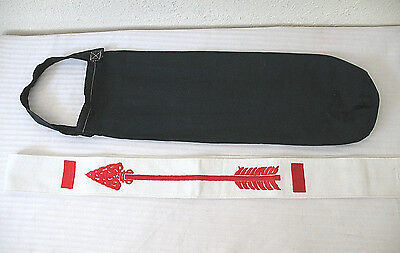 Order of the Arrow OA Boy Scout Sash Embroidered Vintage Red & Home Made Quiver