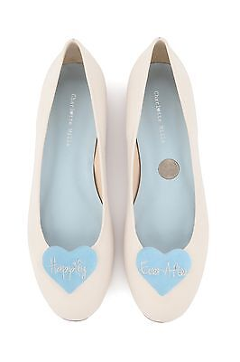 Charlotte Mills Anabel Wedding Shoes Size 3