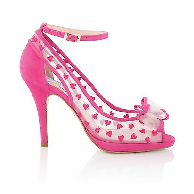 Charlotte Mills Alexis Pink Size 4 Wedding Shoes