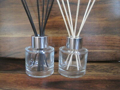 Round Glass Reed Diffuser Bottle  50ml Empty