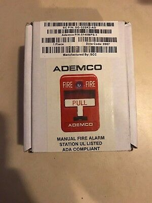 Ademco 5140MPS-1  Fire Alarm Pull Station NEW