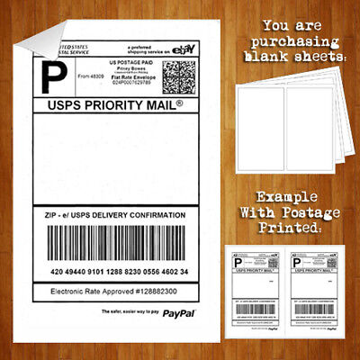 Quality 100 Standard Shipping Power Label eBay PayPal Laser FedEx Seller