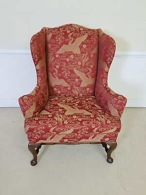 Kittinger Colonial Williamsburg Wing Back Chair