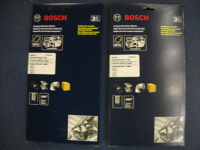6 Bosch CBS2814 NEW Compact Band Saw Blades 28-7/8 14 TPI BSH180 2pks of 3