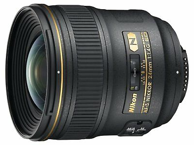 Nikon AF-S FX NIKKOR 24mm f/1.4G ED Fixed Zoom Lens with Auto Focus
