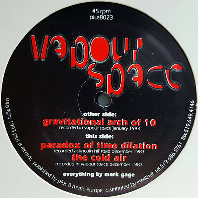 ÜBER HYMNE - Vapourspace – Gravitational Arch Of 10 - Plus 8 Records – HAWTIN
