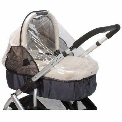 UPPAbaby Bassinet Lindsey Wheat Great Condition INCLUDES Bug & Rain Shields