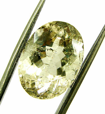 8.69 Ct Certified Natural Beautiful Scapolite Loose Oval Gemstone Stone- 130508