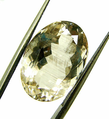 8.17 Ct Certified Natural Beautiful Scapolite Loose Oval Gemstone Stone - 130507