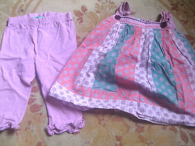 L@@K!  Monsoon Outfit, Top and Leggings, for Baby Girl 6-12 months