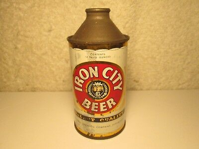 L@@k Estate Find Iron City Beer Cone Top Beer Can Pittsburgh Brewing Co. $14.99