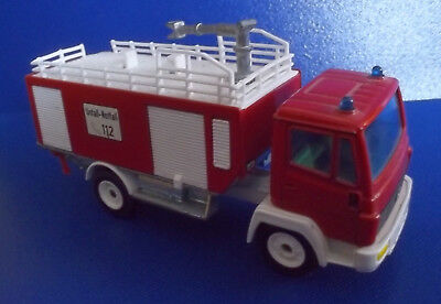 Siku Metall Mercedes Feuerwehr 2721 Made in W. Germany